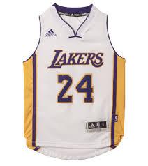 Los Lakers Angeles White – Bryant The 24 Kobe Quarter Adidas Jersey 4th Kids
