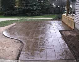 retaining wall cost per square foot stamped concrete patio ideas elegant minimalist details on near retaining wall of s block retaining wall cost per