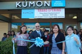 Kumon Math And Reading Grand Opening Of Kumon Math And Reading Center Of Point Loma