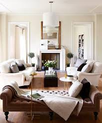 how to arrange two couches in a small living room ideas