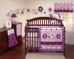 fullsize of gracious purple fl crib bedding set wooden baby room furniture bedding sets purple blue