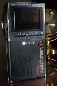 sony tv 2010. sony color watchman fdl 320 photographed may, 2010 tv o
