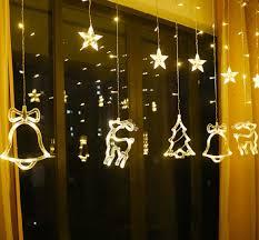 Dây đèn Led/đèn Led trang trí thả rèm không thấm nước trang trí bữa tiệc,  phòng ngủ, giáng sinh, lễ, tết