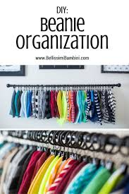 Bellissimi Bambini: DIY Beanie Organization: How to Display & Organize Your