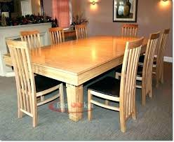 medium size of 8 foot round dining room table wood set amazing of extra long picnic