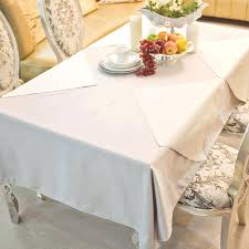 heavy imitation cotton light grey rectangle round square hotel tablecloths wedding table cloth for dining in from home garden on tablecloth uk