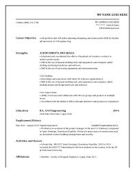 ... Impressive Own Business Experience Resume for Build My Own Resume ...