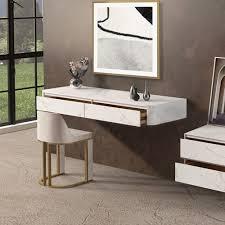 modern white black floating desk 31 39
