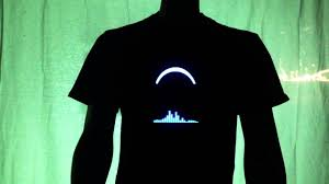 Light Up Shirts Sound Activated Dj Light Up Shirt