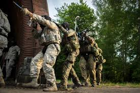 u s department of defense photo essay  u s and nato troops move into position to breach a hardened facility during combat training on ramstein air base 30 2015