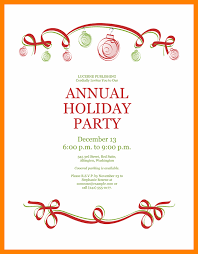 8 Free Office Christmas Party Invitation Templates St