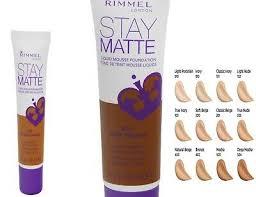 Rimmel London Stay Matte Liquid Mousse Foundation 30ml