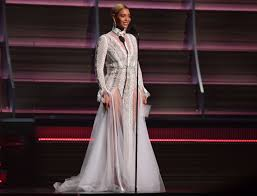 Beyonce Grammy Dress Designer That Time Beyonce Wore An Israeli Wedding Gown To The
