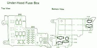 wiring schematics for 2000 honda civic under hood fuse box wiring 1989 honda accord under hood fuse box diagram