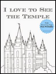 Small Picture Salt Lake Temple Coloring Page Free Printable Salt lake temple
