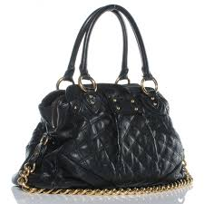 MARC JACOBS Quilted Leather Alyona Bag Black 42757 & MARC JACOBS Quilted Leather Alyona Bag Black. Pinch/Zoom Adamdwight.com