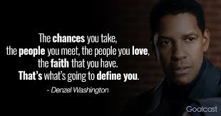 Denzel Washington Quotes About Defeat