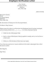 Request Employment Verification Letter Tenant Employment Verification Employee Salary Confirmation