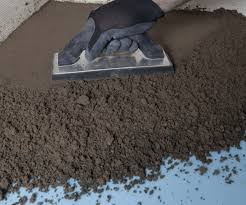 Creating A Mortar Bed For A Shower Installation Using