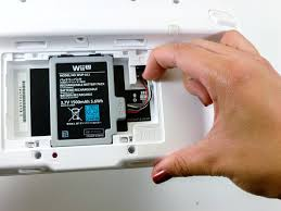 nintendo wii u gamepad analog stick replacement ifixit image 1 3 pull upwards from the bottom of the battery to release it