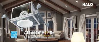 recommended led recessed lighting for sloped ceiling