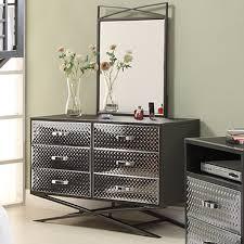 Mirror Bedroom Set Cool 6 Drawer Dresser With Mirror On Carter 6 Drawer Dresser And