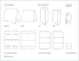Place Cards Template For Word Place Card Templates Table Tent Template Impressive For Word