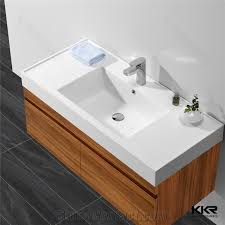 Best Quality Solid Surface Corian Sink Counter Top Vanity Corian Table Top