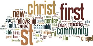 Words For Church Church Names In The U S Openbible Info Blog