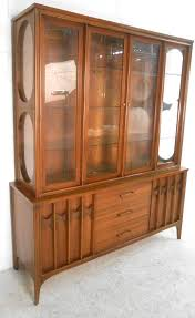 mid century hutch. Modren Mid This Matching Twopiece Server With Display Hutch Makes For An Elegant  Addition To Any Inside Mid Century Hutch C