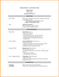 resume international resume template of international resume