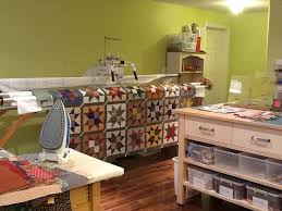 291 best Quilt Studio images on Pinterest | Organizers, Sewing ... & The back wall of my quilting studio with my TinLizzie 18LS. I spend a lot Adamdwight.com