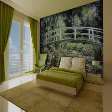 Smashing 1 Wall Murals 1 Wall Monet Japanese Footbridge Giant Wallpaper  Mural P565 914 Zoom in