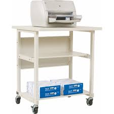 mobile printer stand. Perfect Stand Balt Mobile Printer Stand With 2 Shelves For D