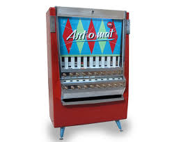 First Vending Machine Dispensed Cool ArtOMat Vintage Cigarette Vending Machines Recycled To Dispense