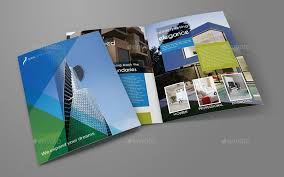 2 folded brochure template architectural design bi fold brochure template vol 2 bi design