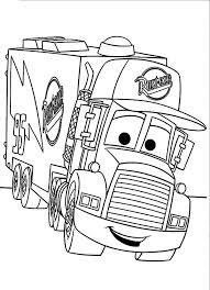Car Transporter Mack the Truck Coloring Pages car and truck coloring sheets printable coloring pages design on jacked up truck coloring pages