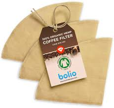 The proprietary filter paper for the chemex is used to produce an exceptionally clean tasting cup of coffee with zero sediment. Amazon Com Bolio Organic Hemp Cone Pour Over Coffee Filters Durable Ecofriendly Reusable 3 No 2 Kitchen Dining