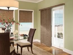 panel track window treatments for sliding glass doors
