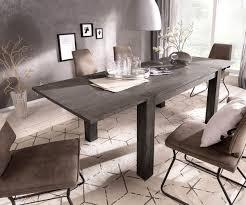 Esstisch Indra Akazie Platin 140240x90 Ausziehbar Massiv Möbel