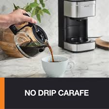 Is plugged into an outlet. Krups Simply Brew 5 Cup Coffee Maker Km202850