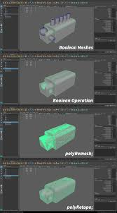ArtStation - Maya Tutorial - polyRemesh and polyRetopo, Fernando Quinn |  Maya modeling, Maya, Zbrush tutorial