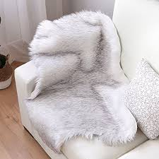 Faux sheepskin rugs Area Rug Nordmiex Faux Fur Sheepskin Rug Deluxe Soft Faux Sheepskin Chair Cover Seat Cushion Pad Plush Fur Area Rugs For Bedroom Sofa Floor 2ft 3ftwhite With Wantitall Nordmiex Faux Fur Sheepskin Rug Deluxe Soft Faux Sheepskin Chair
