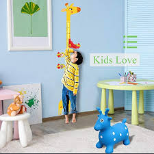 Giraffe Wall Decal Growth Chart Ucmd Magnetic Kids Height Growth Chart Giraffe Wall Decal