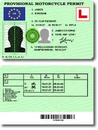 Id Cards Provisional Permit lt; Myfakeid By Motorcycle Fake