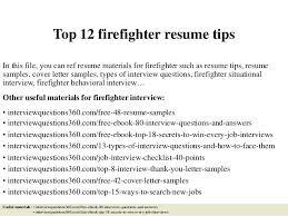 Firefighter Job Description Resume. Fire Service Resume. Firefighter ...