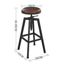 De bar Y barstools American retro loft wrought iron ... - Amazon.com