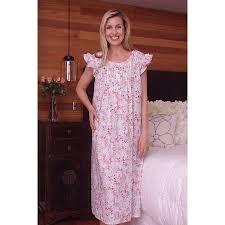 Long Nighty Design Cotton Nightie Mnd 678 Cotton Night Dress 48inches Long