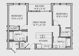Harbour Ridge Apartments  Downtown Traverse City  Traverse City Apartments Floor Plans 2 Bedrooms