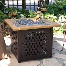 uniflame fire pit. Home Interior: Shrewd Blue Rhino Fire Pit Amazon Com Outdoor Propane Gas Lava Rocks From Uniflame S